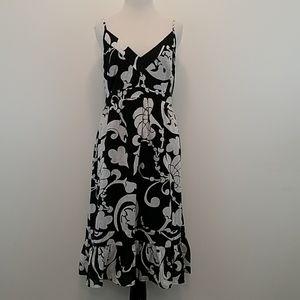 Old Navy  Black & White  Strapped Sun Dress sz-XL